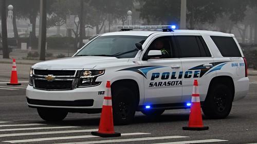 Sarasota Police Department 2015 Chevy Tahoe PPV Photo
