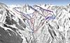 Mapa Stubaier Gletscher