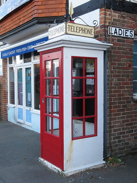 The last K1 telephone box in use