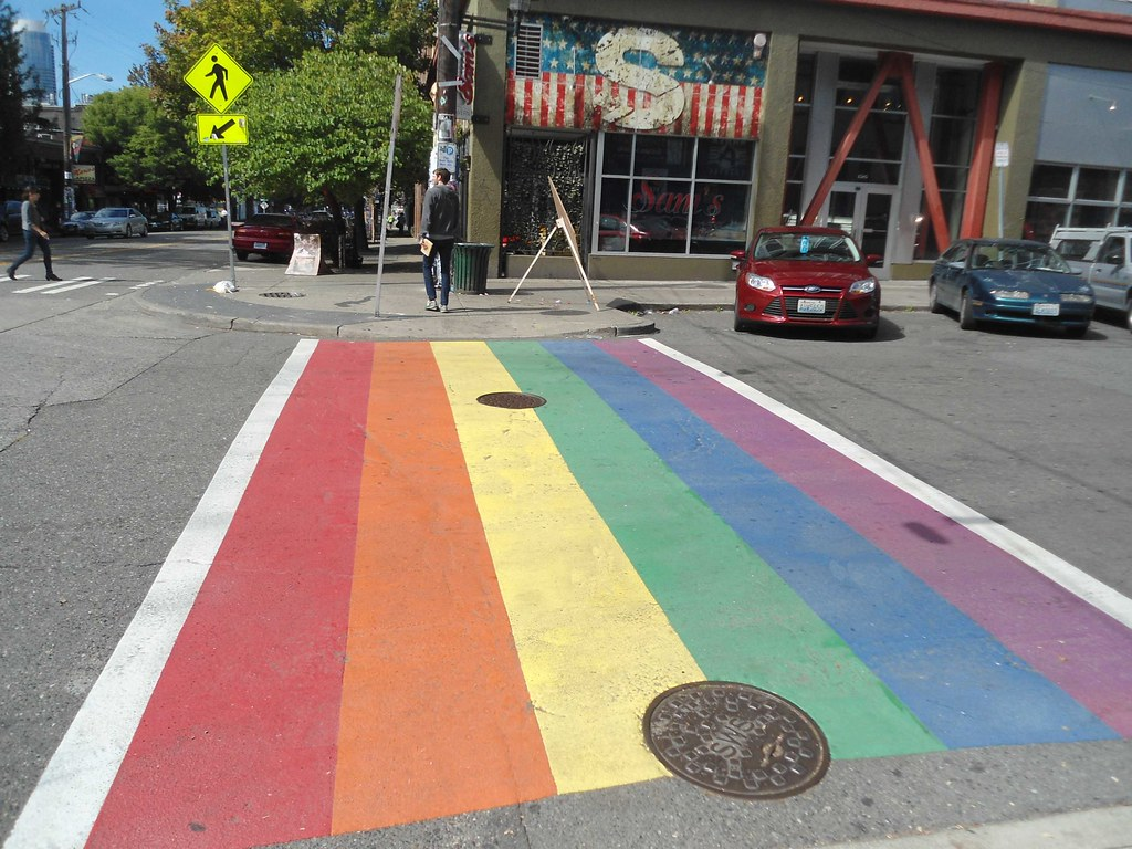 Image result for gay sidewalk seattle