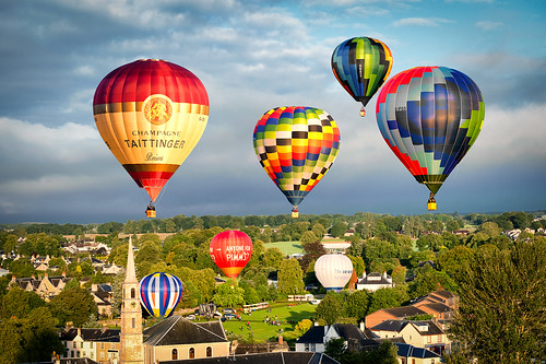 hot festival sunrise balloons scotland air strathaven