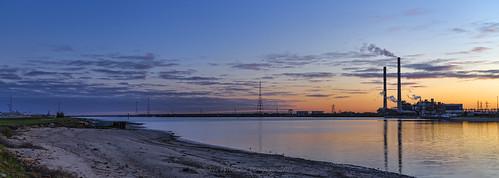 blue sunrise industrial australia adelaide southaustralia powerstation portriver largsnorth