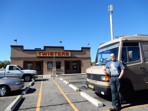 Albuquerque - Breaking Bad - lunch bij Twisters aka Los Pollos Hermanos - 2