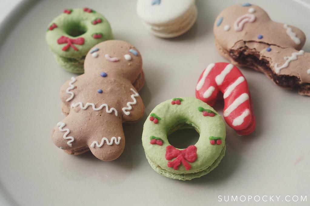 Christmas Macarons.Christmas Macarons Site Www Sumopocky Com Instagram Ww