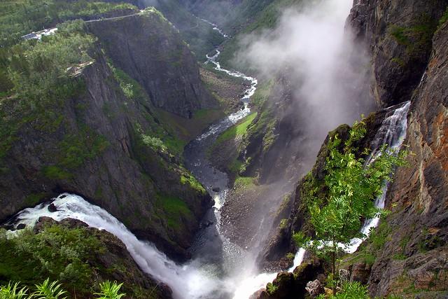 Esteemed waterfall