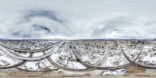 300 ft over the Lents Town Center | by Twelvizm