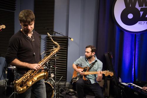 Brad Walker and Danny Abel of the Noah Young Band. Photo by Ken Maldonado.
