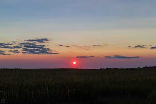 sunset sky weather clouds canon illinois midwest troy august 2015 eosm