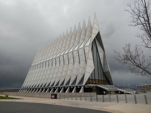 US Air Force Academy - chapel - 1