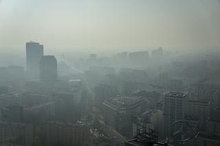 Warszawski smog   by Radek Kołakowski