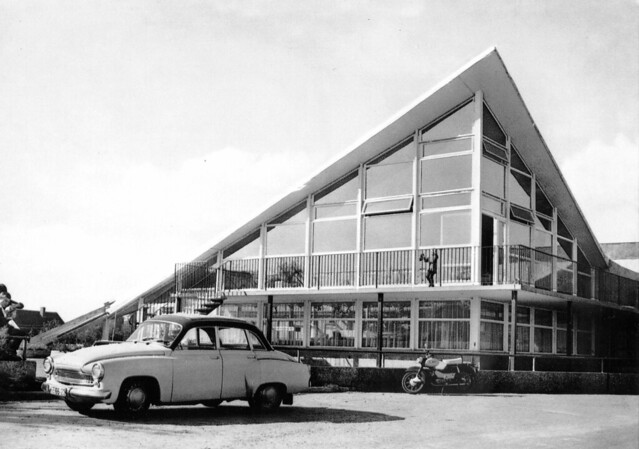 HO-Gaststätte, Oschatz-Lonnewitz, Saxony 1972