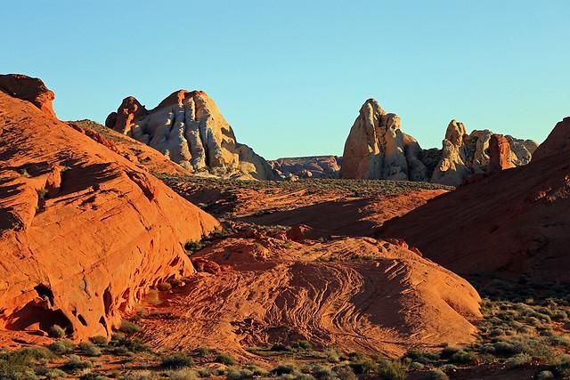 Sandstone Flow, Valley of Fire, Nevada
