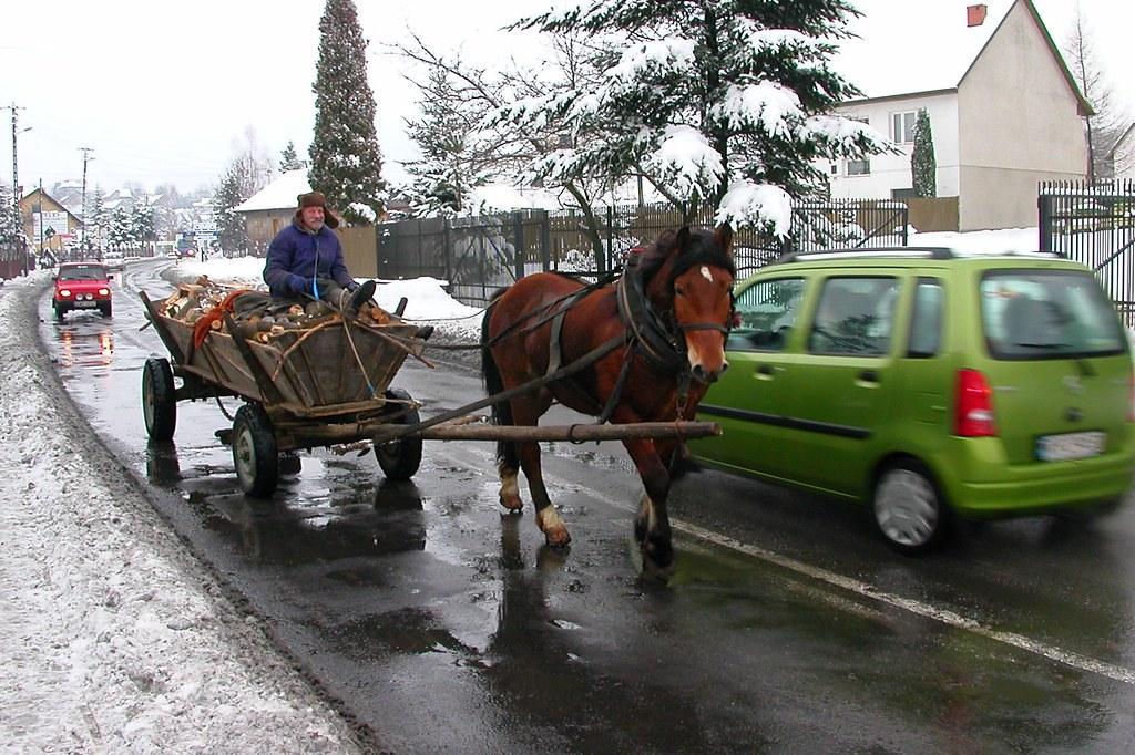 Dostawa opału / Fuel delivery