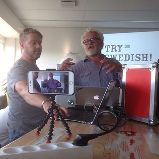 232/365 Swedes recording themselves | by Anetq
