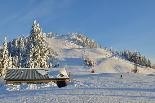 Grouse Mountain, Ski Resort, North Vancouver BC, British Columbia