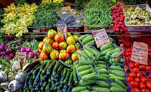 Colors in an Italian Market [Explored]