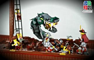 Sea serpent attack! | by DBexplorer
