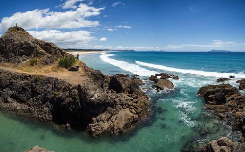 aucklandarea breamhead breamtail eyrespoint henandchickenislands mangawhai newzealand newzealandsummer tearai tearaibeach beach summer surf wave selfie landscape panorama seascape