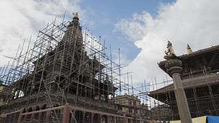 Workers Repair Temple | by World Bank Photo Collection