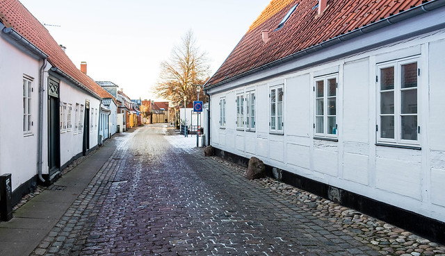 Old houses in Køge