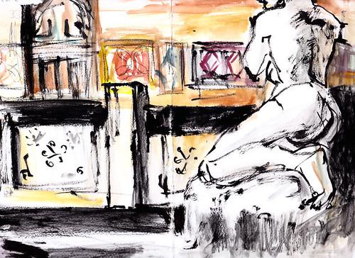 Cle_mence Bevilacqua Sketchcrawl 28.01.17-03 | by grenoblesketchcrawl