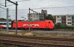 Amsterdam Muiderpoort,  NS Fyra Class186