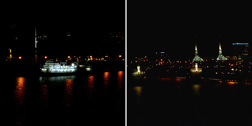 Waterfront at Night   by Buddha-Bellies
