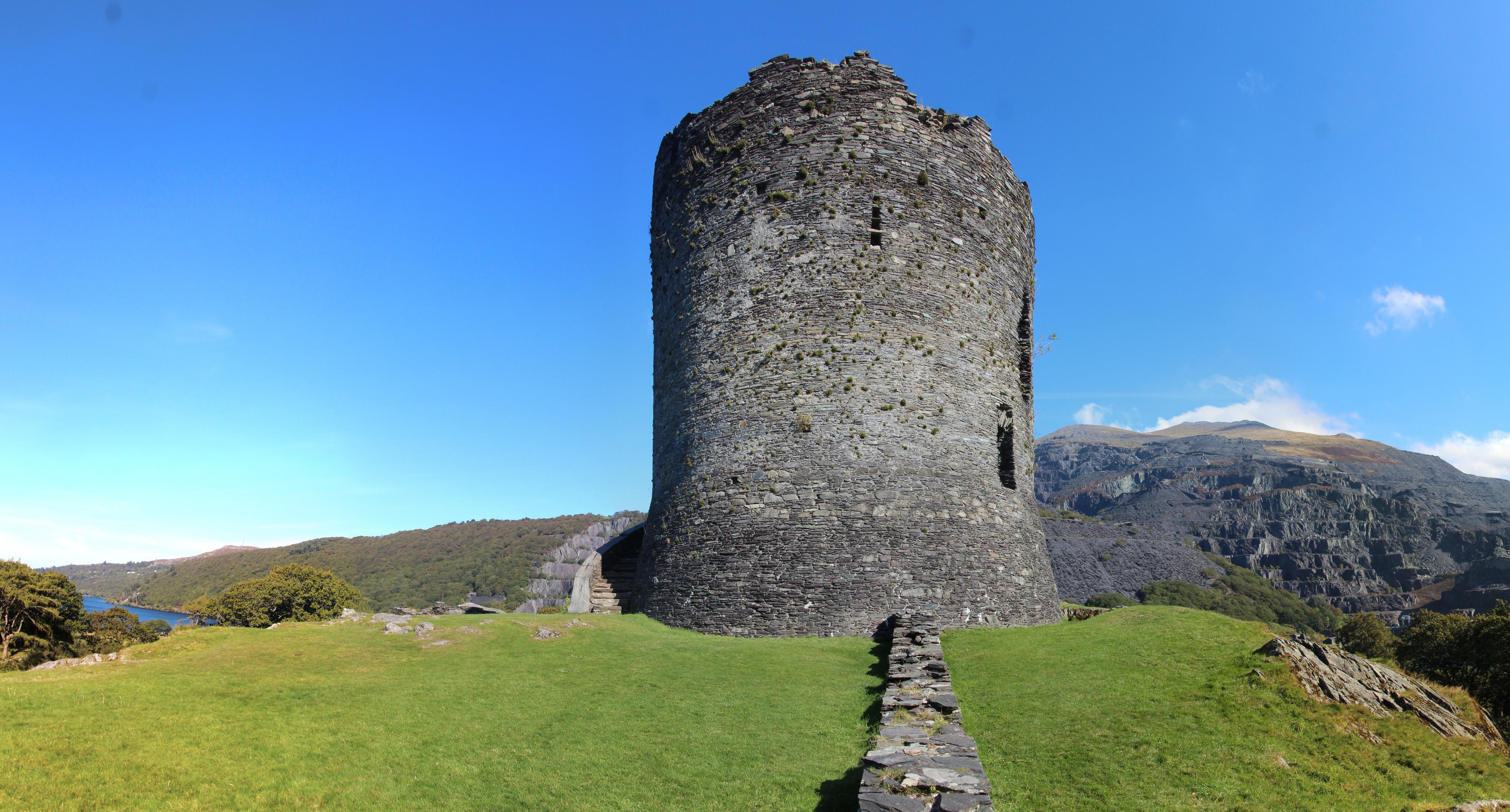 Castle Dolbadarn ruins, Llanberis