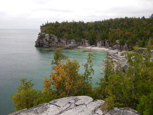 Bruce Peninsula NP - Indian Head Cove