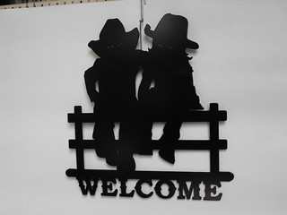 welcome cowboy and cowgirl | by providencemetalart