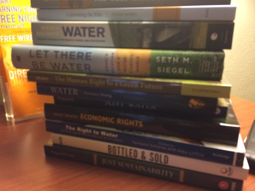 Books on water