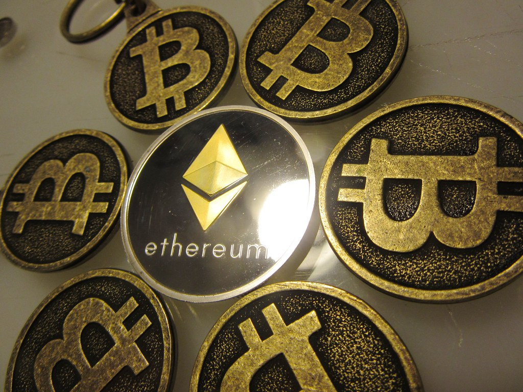 Bitcoin Keychains with Ethereum Collectible Coin IMG_2383 | Flickr