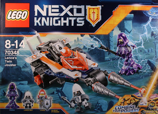 70348 Nexo Lance Twin Jouster - Box art front | by koffiemoc