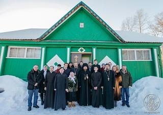 Литургия в в селе Рогавка 390