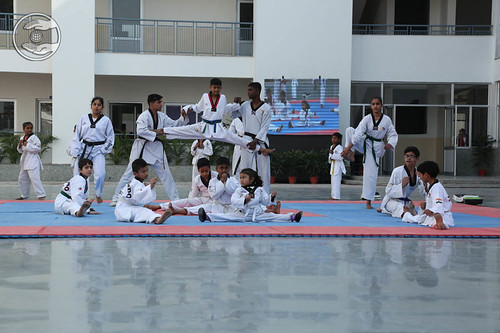 Judo by Students of Sant Nirankari Public School