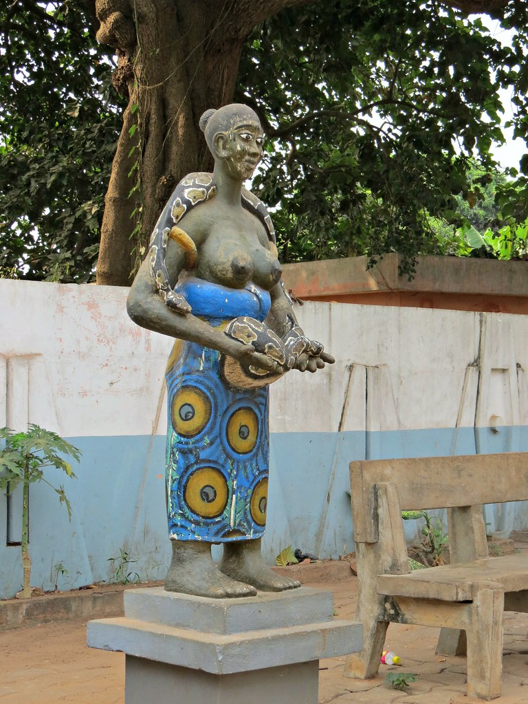 Python temple | Benin  West Africa  Ouidah In most parts of