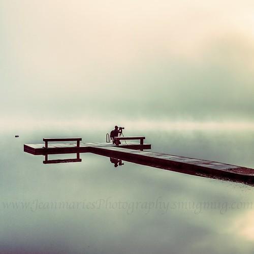 water moody photographer mist white foggy fog morning dock outdoors nature nikon landscape lake jeanmarie jeanmarieshelton