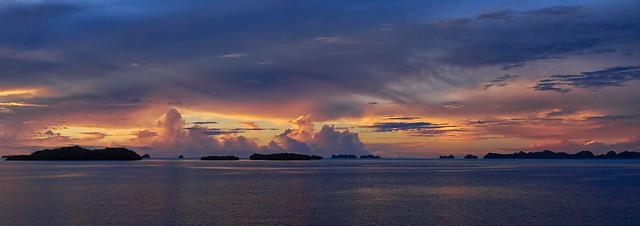 Sunset, Palau