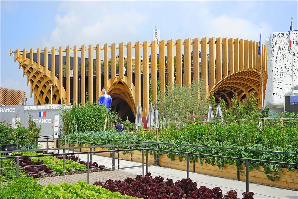 Le pavillon de la France (Expo Milan 2015)