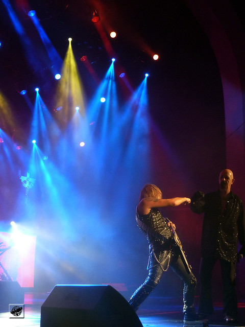 Judas Priest - Richie Faulkner and Rob Halford