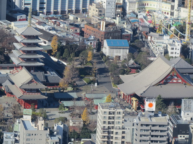 View of Asakusa From Tokyo Skytree