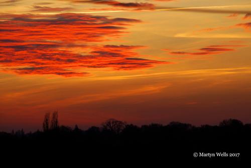 nikon d60 sunsets red silhouette clouds sky braintree braintreeessex essex landscape theamateursgroup ngc unlimitedphotos