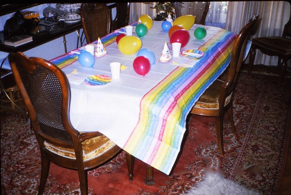 West Germany   -   Vaihingen   -   Patch Barracks   -   Bldg 2401  A6   -   Happy Birthday Jessica   -   23 July 1987