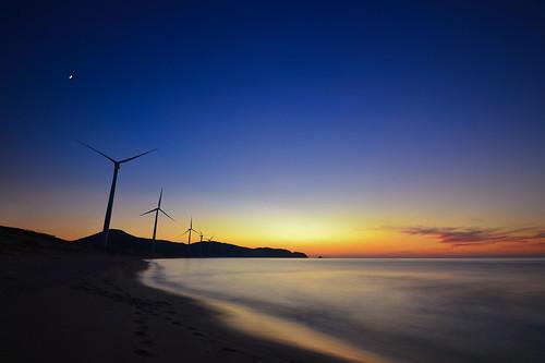 sunset nature windmill beautiful out nikon october dusk 10 wide dramatic nopeople shimane 自然 夕日 tranquil sanin d600 seaofjapan 島根 1635mm 日本海 山陰 gotsu 江津 浅利
