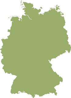 Deutschlandkarte Tim Reckmann Flickr