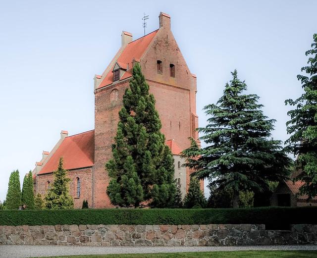 Væggerløse church, Falster, Denmark