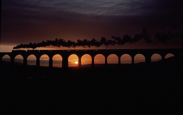 Ribblehead sunset