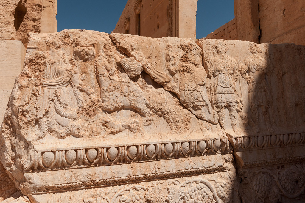 Remembering Palmyra The Bas Reliefs Of The Temple Of Bel Flickr
