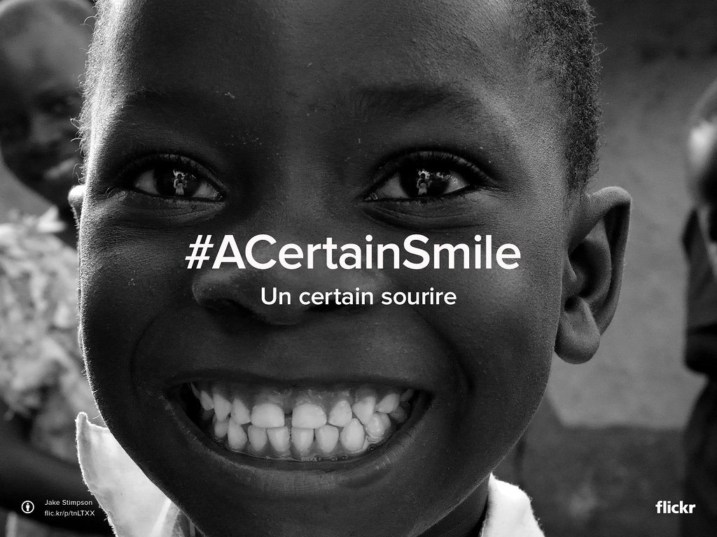Flickr Friday : Un certain sourire #ACertainSmile