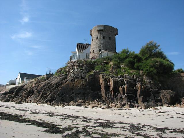 Martello Tower at La Rocque, Jersey